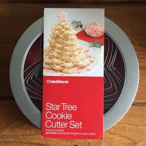 🍂Star Tree Cookie Cutter Set